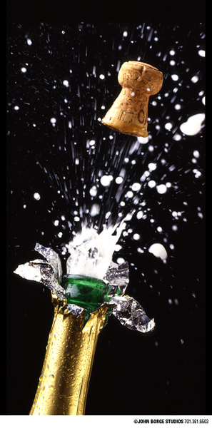 Champagne - tricky shot! : food : JOHN BORGE STUDIOS Fargo North Dakota Photography Advertising, Public Relations