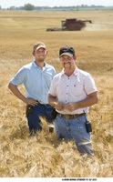 An editorial project featuring two young farmers in North Dakota