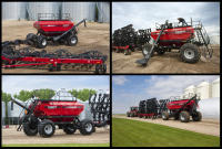 National campaign shot for CaseIH. Four days of rain, one day to get it all done!
